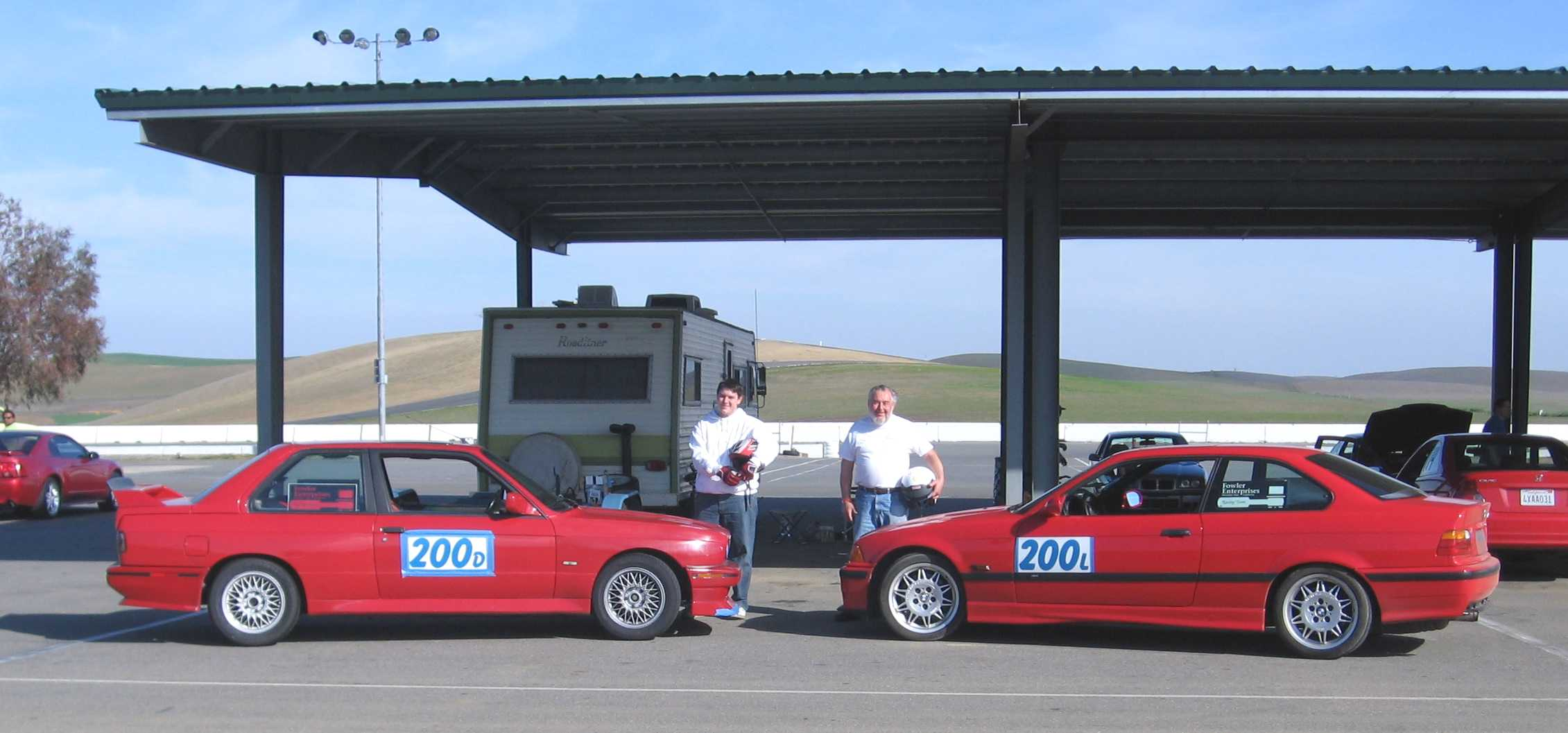 Daryl and Ladd at Thunder Hill 20 Feb 2008