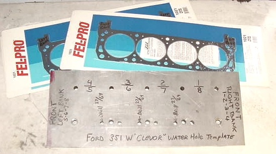 Ford Clevor Head plates