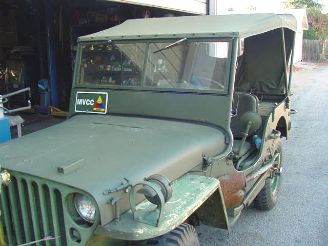 Jeep LH front quarter july 2006