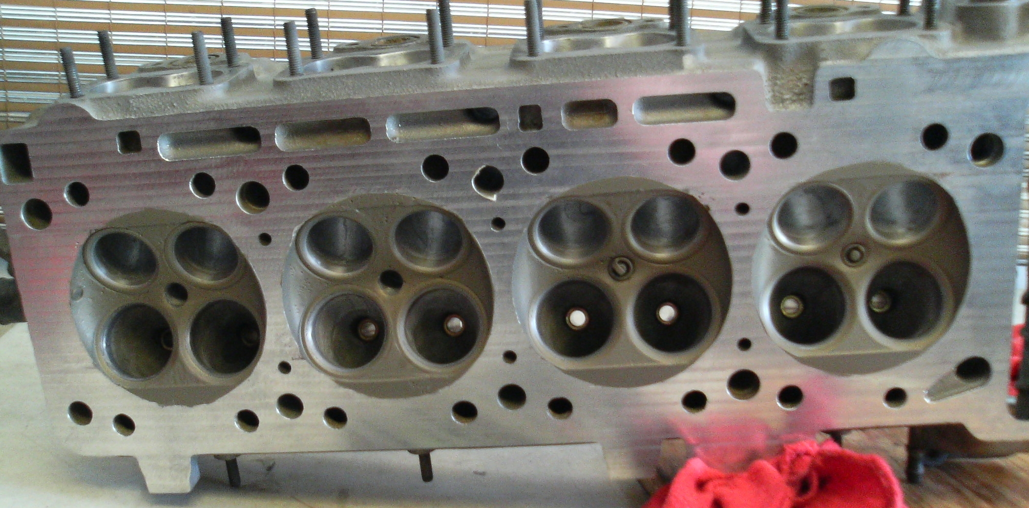 BMW M3 engine project thermal barrier coated